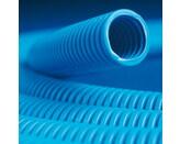 ДКС Труба ППЛ гибкая гофр. д.20мм, лёгкая с протяжкой, 100м, цвет синий