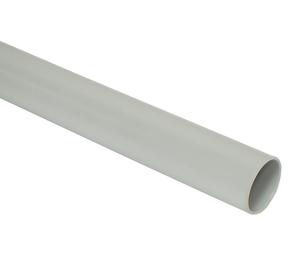 ДКС Труба ПВХ жёсткая атмосферостойкая д.32мм, лёгкая, 3м, цветсерый
