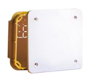 ДКС Коробка ответвительная прямоуг. для твердых стен, IP40, 118х96х50мм
